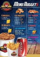 Menu Chicken Pack - Menu nuggets
