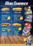 Menu Chicken Pack - Menu sandwiches