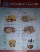 Menu Cassin Chez Ali - Les sandwiches, assiettes, barquettes...