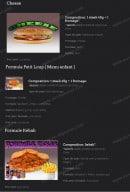 Menu Les Crocs'heures - La formule cheese,...