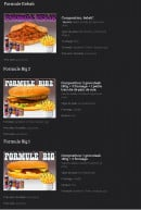 Menu Les Crocs'heures - La formule kebab,....