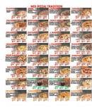 Menu Chez la famille food - Les pizzas