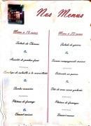 Menu Bar des Chineurs - Menu à 16€ et 23€