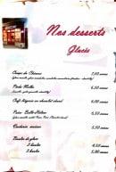 Menu Bar des Chineurs - Desserts glacés