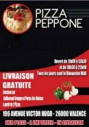 Menu Pizza Peppone - carte et menu pizza peppone Valence