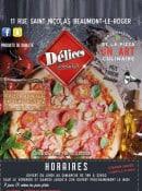 Menu Délices Pizza - Carte et menu Délices Pizza Beaumont le Roger