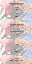 Menu Bistrot 1954 - Les entrées, homard et poissons