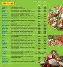 Menu La Bigorne - Les pizzas à emporter