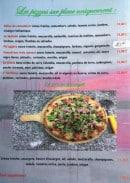 Menu The Donegan - Pizzas suite