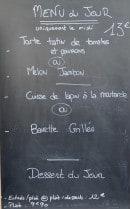 Menu Micca Nome - exemple de menu