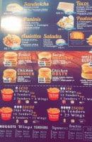 Menu Darkoum - Les sandwichs, les paninis,....