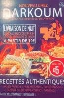 Menu Darkoum - Carte et menu Darkoum  Toulouse