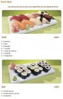 Menu Tsubaki House - Les menus Sushi Maki