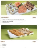 Menu Tsubaki House - Les menus brochettes suite