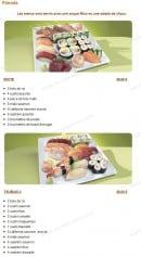 Menu Tsubaki House - Les menus friends