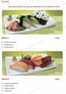 Menu Tsubaki House - Les menus Tsubaki