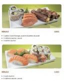 Menu Tsubaki House - Les autres menus Tsubaki