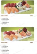 Menu Tsubaki House - Les autres menus Sushi cali