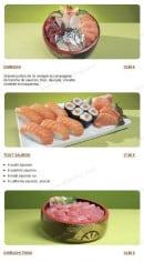Menu Tsubaki House - Les menus chirashis