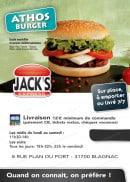 Menu Jack's Express - Carte et menu jack's express Blagnac