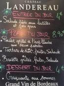 Menu French Bistro - Exemple de menu du jour