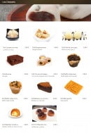 Menu Hayashi - Les desserts