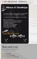 Menu Le petit St Mich - Les informations sur les menus