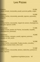 Menu Simeone Dell'Arte - Les pizzas (suite)