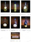 Menu Simeone Dell'Arte - Les alcools