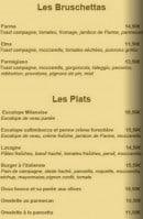 Menu Simeone Dell'Arte - Les brochettes et les plats