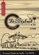 Menu Le Bistrot du Centre - carte et menu Le Bistrot du CentreLa Teste de Buch