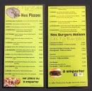 Menu Le Ty'Zac - Les pizzas
