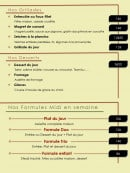 Menu Le Bistro du Pic - Les grillades, desserts et formules midi