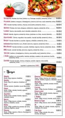 Menu Burger & Pizz' - Le pizza sélection et burger