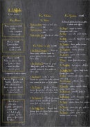 Menu A L' Affiche - Salades, gratins, menus,...