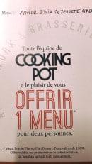Menu Cooking Pot - Carte et menu Cooking Pot Rennes