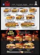 Menu Burger Time - Burgers