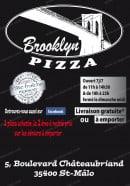 Menu Brooklyn Pizza - Carte et menu Brooklyn Pizza Saint Malo
