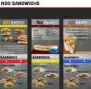 Menu Le Big S - Sandwiches