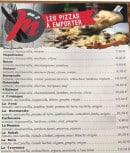 Menu Aux 2M - pizzas