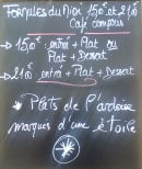 Menu l'îlot - Exemple de menu
