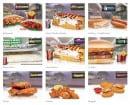 Menu Le Tacos de Lyon - Sandwichs et chicken