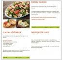 Menu Picual - Plateaux et menu sur le pouce