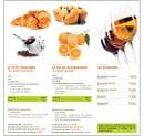 Menu Picual - Le petit déjeuner, pause gourmande...