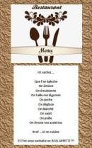 Menu Le Farinaud - Carte et menu Le Farinaud Theys