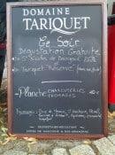Menu Le trio - Exemple de menu