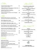 Menu Le Cadet de Gascogne - Entrées, plats, desserts,....