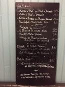 Menu Le Bistrot De Mr Jules - Formules, desserts, plats du jour,....