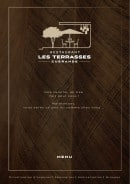 Menu Les Terrasses - carte et menu Le Coupe FaimRoujan