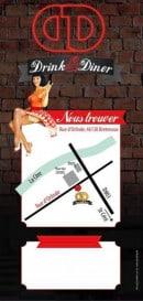 Menu Drink & Diner - Carte et menu Drink & Diner Bretenoux
